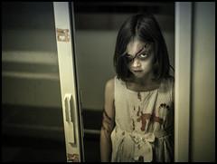 Zombie in Training (Uncle_Greg) Tags: museum kid nikon zombie ottawa creepy zombies diefenbunker unclegreg gregstevenson incidentatthebunker