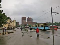IMG_0076 (JoStof) Tags: oslo norway cityhall tram radhus