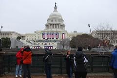 Preparations for the inauguration of Barack Obama at the U.S. Capitol in Washington D.C. (gjbarb) Tags: washingtondc dc uscapitol capitol obama inauguration barackobama