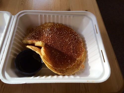 Pancake und Ahornsirup <3