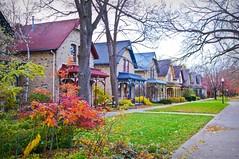 Historic Milwaukee Avenue (Doug Wallick) Tags: railroad houses minnesota angle sony wide minneapolis historic milwaukee restored avenue 1890 lightroom a55