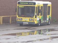 S256AFA (Bus Ad Man) Tags: eco e1 sthelens firstbus firstgroup merseytravel selwyns woodsideferryterminal tecnobus smarteco firstwirral s256afa tecnobusgulliver0500