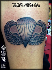 Tattoo By Enoki Soju (Enoki Soju) Tags: tattoo military airborne tattooart tattoodesign militarytattoo tattooartist airbornewings tattoophoto enokisoju enokisojutattoo professionaltattooartist tattoobyenokisoju airbornewingstattoo