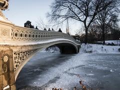 Warm side of the bridge (jp3g) Tags: park white snow central snowstorm panasonic g3 hercules
