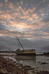 SHIP WRECK (mark_rutley) Tags: light lake clouds ship hampshire shipwreck portsmouth wreck tipnor tipner