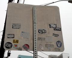 aus s096 (rhem rhem) Tags: austin cares sticker stickers megs bonk washere briks elab