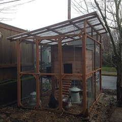 """#chickens #coop built by @chrispetrauskas • <a style=""""font-size:0.8em;"""" href=""""https://www.flickr.com/photos/61640076@N04/11942409493/"""" target=""""_blank"""">View on Flickr</a>"""