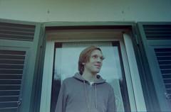 (Federica [C]) Tags: camera old boy green film window analog vintage nikon grunge indie analogic pellicola analogcamera