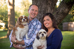 Photo with the little ones (ZTW1) Tags: family portrait engagement couple zachwerner autumndavid
