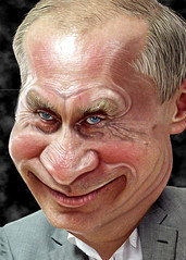 Vladimir Putin - Caricature (DonkeyHotey) Tags: art face photomanipulation photoshop photo russia president political politics cartoon manipulation caricature politician olympics campaign karikatur caricatura commentary politicalart vladimirputin karikatuur politicalcommentary vladimirvladimirovichputin donkeyhotey