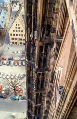 Frankreich # France # Strassburg Munster #  Strassburg_1987_006 - Nikon F501 Agfa Colorslide (irisisopen f/8 >3Mio) Tags: color film church analog nikon frankreich kirche agfa minster farbe mnster elsass f501