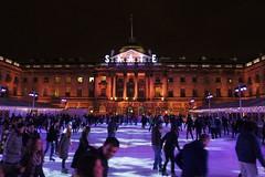 Somerset House ice skating rink