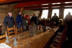 De OGA bezoekt de kapiteinshut van de Batavia 2014/01/18 14:36:31