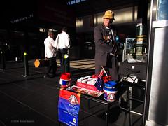 ANZAC Hero Appeal (gahenty) Tags: melbourne streetscene f2 12mm omd earlymorninglight streetcandid em5 anzacappeal colouredstreetphotography