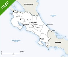 Map of Costa Rica (onestopmap) Tags: highresolution costarica map maps free sanjose download jpeg vector bitmap layered printable editable vectormap vectormaps selectable printablemap printablemaps onestopmap mapofcostarica