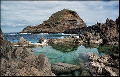 Volcanic rock pools, Madeira.. (bevscwelsh) Tags: volcanic madeira rockpools sonye1855 sonynex6