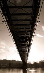 IMG_7599 b (Epiphany TT1530) Tags: bridge river under wv westvirginia underneath suspensionbridge wheeling ohioriver ohiovalley wheelingisland friendlycity