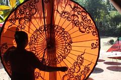 Making parasols in Pathein, Myanmar (Kate B Dixon) Tags: factory burma parasol myanmar parasols pathein