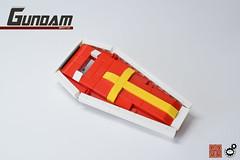 22. Gundam Shield (Sam.C (S2 Toys Studios)) Tags: rx782 gundam mobilesuit legogundam lego moc samc s2toys 80s scifi mecha anime japan spacecraft