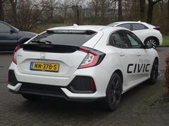 New Honda Civic (harry_nl) Tags: netherlands nederland 2017 amersfoort honda civic nn378s sidecode9 debois