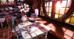Hollandaise (**PECO**) Tags: sl secondlife house breakfast window