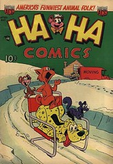 Ha Ha 89 (Michael Vance1) Tags: art adventure artist anthology comics comicbooks cartoonist funnyanimals fantasy funny humor goldenage