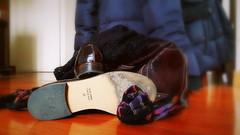 41 (Aellevì) Tags: verocuoio madeinitaly scarpe pelle suola borsa calze aellevì calzettoni accessori