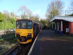 150108 Calstock (Marky7890) Tags: gwr 150108 class150 sprinter 2g74 calstock railway train cornwall tamarvalleyline