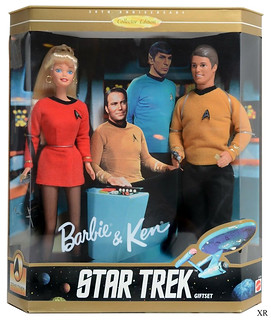 1995... Barbie and Ken: Star Trek