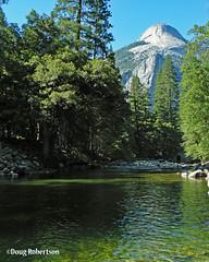 Merced River (DougRobertson) Tags: sentineldome mercedriver river usa america california nationalpark yosemite water