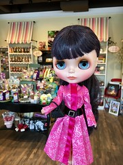 ANNA stopped into the candy shoppe during her outing in the village. Don't let her aloof expression fool you! She couldn't wait to get out of there and taste her Rocky Road fudge! (Barbie outfit)