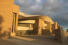 MAGMA Centre, Adeje, Tenerife (Lark Ascending) Tags: magma tenerife conferencecentre venue auditorium concerthall concrete contemporary architecture spain canaryislands zinc twilight dusk glow adeje