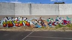 Askem, Welin & Rase... (colourourcity) Tags: streetart streetartaustralia graffiti streetartnow colourourcity awesome burncity nofilters melbourne rase race welin ask askem askm arsk sdm adn mdr joiner skippy roadkill