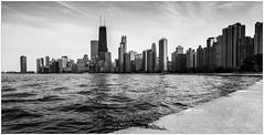 Chicago Skyline, USA (CvK Photography) Tags: bw canon chicago city cityscape cvk holiday illinois monochrome skyline spring usa chicagoskyline monochroom mono blackandwhite blackwhite skyscrapers skyscraper skyscaper