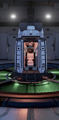 Ready to launch.. (Gothicpolar) Tags: turing test space ship scifi game pc screenshot scene pretty