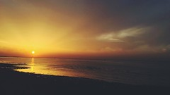sunsets are proof that no matter what happens..! every day can end beautifully (miss.abr) Tags: 바닷가 일몰 canon كانون غروبالشمس تصويري color natural sea sun photo photograph sunset