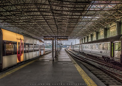 Here and There Trains (Luciano_de_Castro) Tags: travel train beautiful traveler station photography eos fotografia canon europe portugal braga europa 760d t6s lucianodecastro