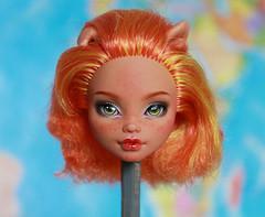 Howleen Wolf ooak (PolinaKalinina) Tags: howleenwolf ooak howleen monsterhigh repaint doll makeup