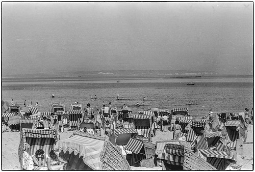 Göhren - Strandleben 1960