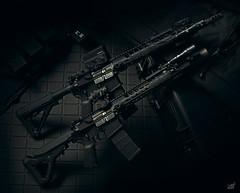 LANTAC Ravens (Threedi) Tags: ar15 rifle lantac vortexoptics magpul uh1 aimpoint