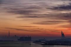 Dubai (Ashmalikphotography) Tags: burjkhalifa burj burjalarab yatch dubaidream earlymorning morning sunrise sky clouds dubaiicons architecture sunset travel travelphotography