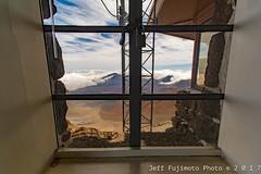 Haleakala Visitors Center Crater View (j . f o o j) Tags: maui haleakala hawaii aloha cloudporn skyporn foamporn
