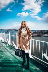 swe1 (Sofia Hendrén) Tags: sweden fashion boat landscape blue green summer louisvuitton