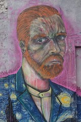 "Unidentified / No identificado, [Van Gogh] (hanneorla) Tags: unidentifiednoidentificado vangogh sanmiguel santiagodechile streetart artecallejero arteurbano urbanart publicart""artepúblico"" murals mural murales graffiti grafitero artista artist centroculturalmixart hanneorla2014"""
