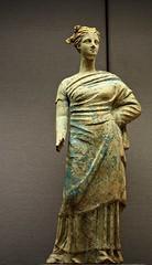 Votive figure:  Vesta? Persephone? (circe27) Tags: ancientgreece statuary