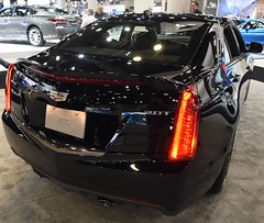 2017 Cadillac ATS 2.0T (D70) Tags: cadillac ats fourdoor fivepassenger compact luxury sedan designed engineered manufactured marketed optional engines 20liter turbocharged i4 gasoline engine produces 272 horsepower 203 kw 2017 vancouver international auto show
