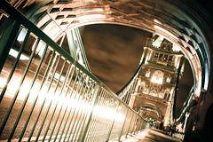 Tower Bridge Rush Hour (Pixelglo Photography) Tags: rushhour traffic night longexposure towerbridge bridge blur motion architecture lights cars london travel outdoors shadows