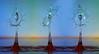 Trinity (Wim van Bezouw) Tags: water drops color splash pluto strobist sony ilce7m2 valve plutotrigger highspeed trigger