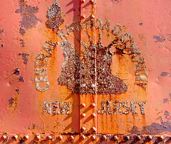 Lady Liberty (Fan-T) Tags: cursed central railroad new jersey northeastern caboose london ohio lady liberty rust ghost lettering