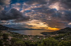 View at sunset (Vagelis Pikoulas) Tags: sun sunset psatha greece europe 2017 april spring canon 6d tokina 1628mm landscape sea seascape view clouds cloudy